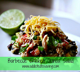 Barbecue Chicken Quinoa Salad Recipe