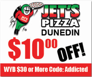 Jets pizza coupons codes