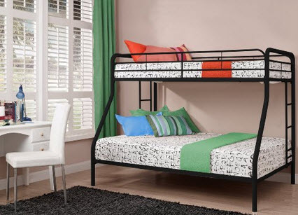 Doral Assembly For A Metal Twin Full Bunk Bed