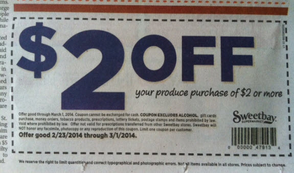 sweetbay-$2-off-$2-coupon