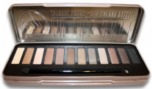 natural nudes eye shadow palette