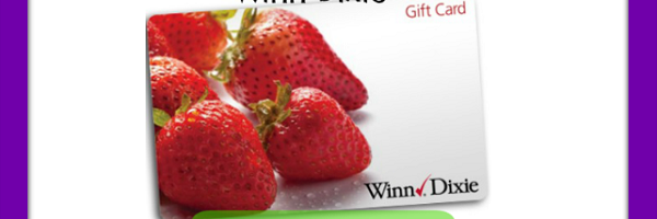 Giveaway! Celebrate What Makes Moms Great w/ $50 Winn-Dixie Gift Card Giveaway