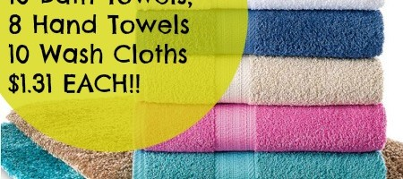 TOWEL Deal! 18 Towels, $1.31 each!