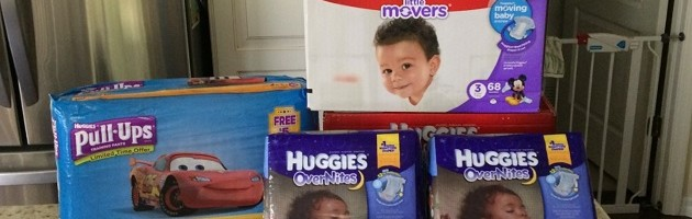 Photo Show & Tell: Huggies Diapers  & Pull-Ups