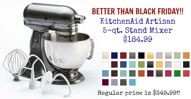 Kitchen Aid Sale Black Friday