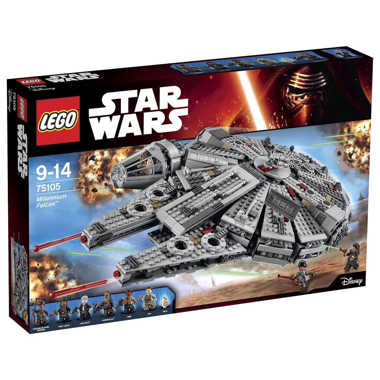 Lego Star Wars Millennium Falcon Set For 119 99 Reg