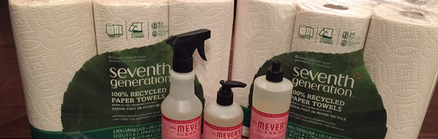 Mail Call: Seventh Generation Paper Towels & 3 pc Mrs Meyer's Holiday Set $12.98 Shipped