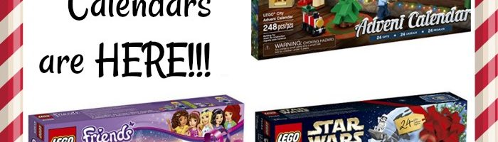The 2017 LEGO Advent Calendars are HERE!!