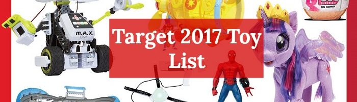 Target 2017 Top Toy List