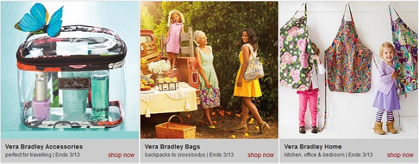 Right Now Zulily Has A Sale On Vera Bradley Bags Accessories And Home Decor Products This Is Rare Styles Are Already Selling Out