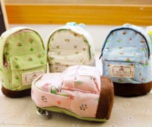 Mini Backpack Coin Purses