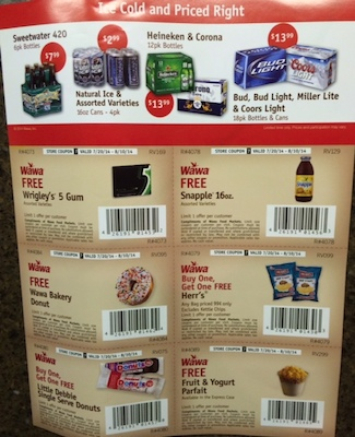 photograph about Wawa Coupons Printable known as Wawa Discount codes inside of Sundays Paper: Absolutely free Wrigley 5 Gum, Cost-free