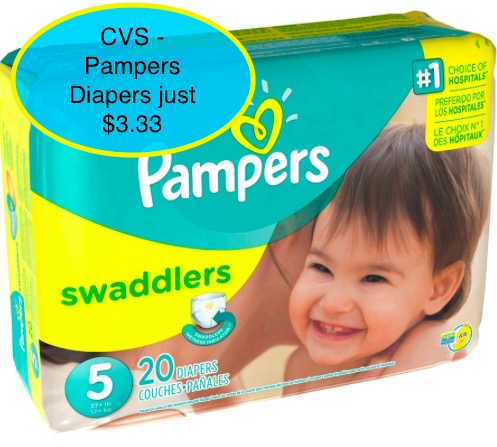 Pampers deals cvs august 2016