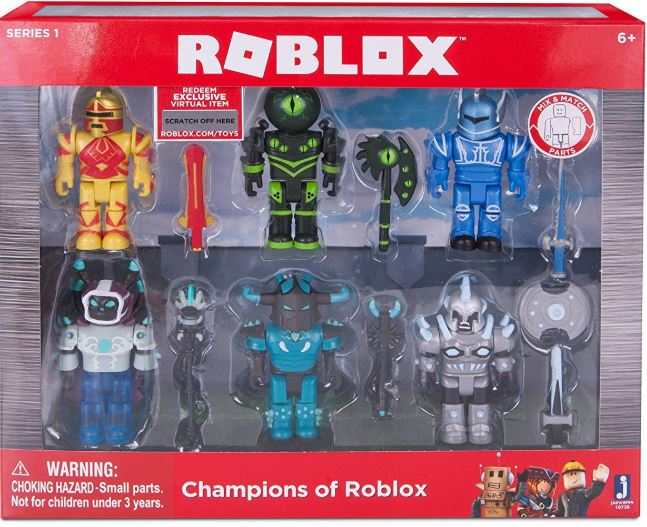 How To Make A Custom Roblox Figure Roblox Champions Of 6 Figure Pack 9 41 From 20 Lowest Price Addictedtosaving Com